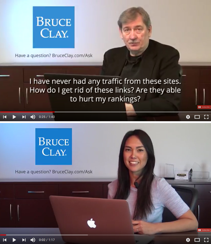 Bruce Clay Ask Us Anything Video Series